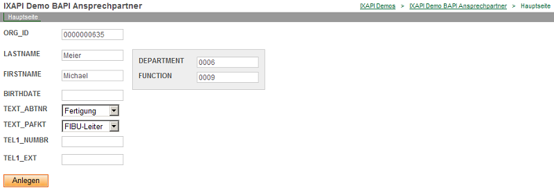 Intrexx Online Help
